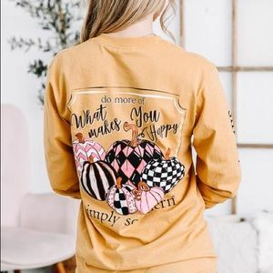 NWT Simply Southern Collection Long Sleeve Tee